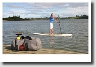 Paddle Boarding Pleasures...Try a Portable Pump-Up