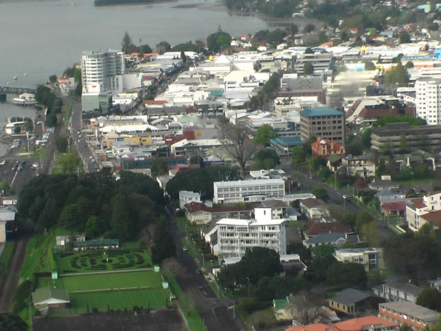 Tauranga's downtown shopping centre